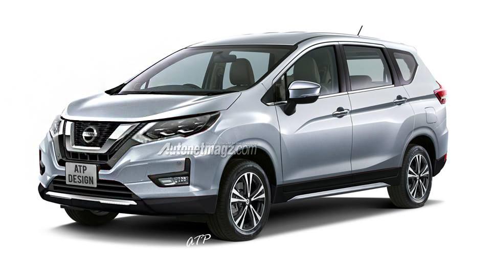 Nissan Readying the Next-Gen Grand Livina Based on Mitsubishi Xpander 2