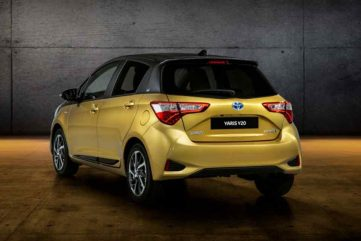 Toyota Celebrates 20 Years of Yaris with Gold-Painted Special Edition 4
