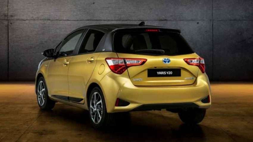 Toyota Celebrates 20 Years of Yaris with Gold-Painted Special Edition 7