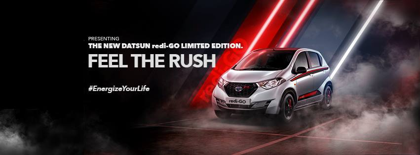 Datsun Launches redi-GO Limited Edition in India Priced from INR 3.5 lac 1