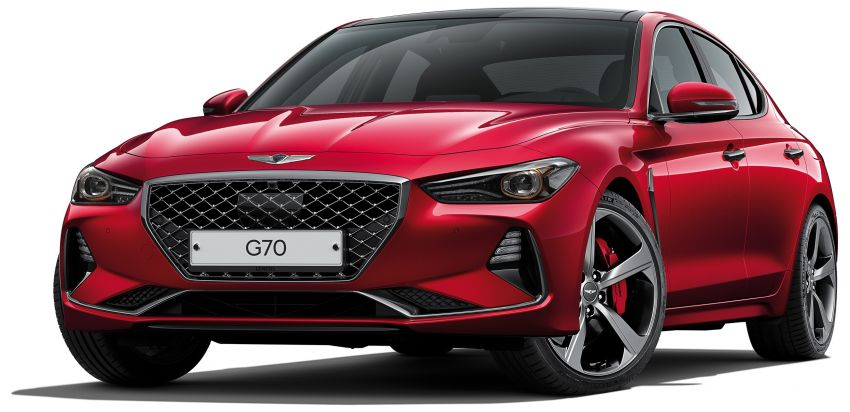 Genesis G70 Gets World's First 3D Instrument Display 4