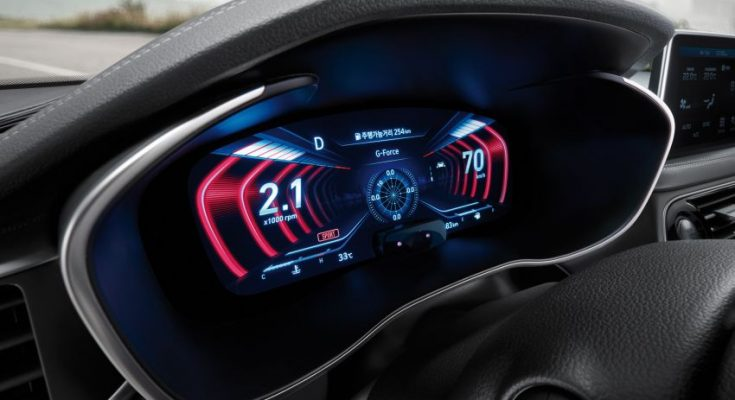 Genesis G70 Gets World's First 3D Instrument Display 1