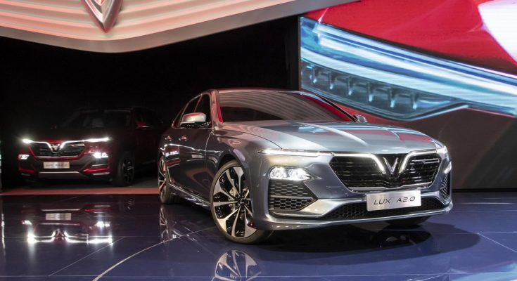 VinFast Unveils Vietnam's First Cars at Paris Motor Show 1