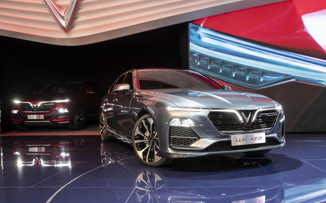 VinFast Unveils Vietnam's First Cars at Paris Motor Show 5