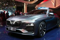 VinFast Unveils Vietnam's First Cars at Paris Motor Show 4