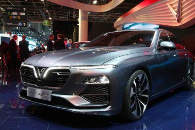 VinFast Unveils Vietnam's First Cars at Paris Motor Show 3