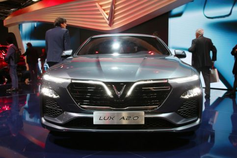 VinFast Unveils Vietnam's First Cars at Paris Motor Show 3