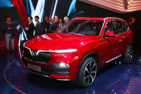 VinFast Unveils Vietnam's First Cars at Paris Motor Show 8