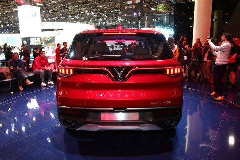 VinFast Unveils Vietnam's First Cars at Paris Motor Show 13