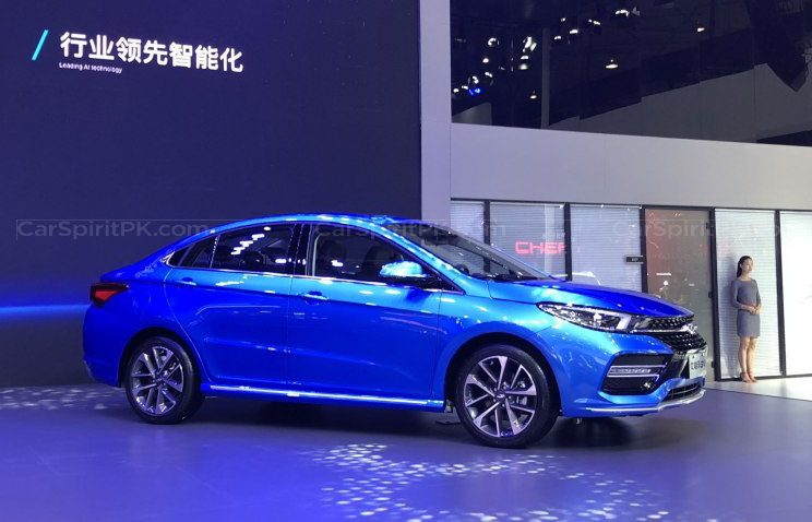 Chery Launches the Arrizo GX in China 3