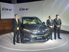 Honda Launches the 5th Gen CR-V in India for INR 28.15 lac 5