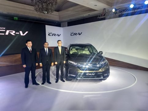 Honda Launches the 5th Gen CR-V in India for INR 28.15 lac 4