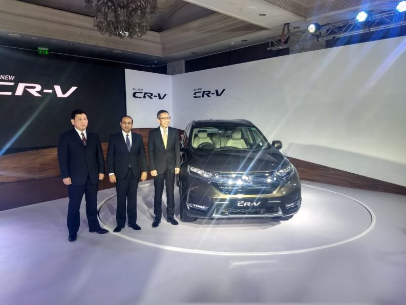 Honda Launches the 5th Gen CR-V in India for INR 28.15 lac 1