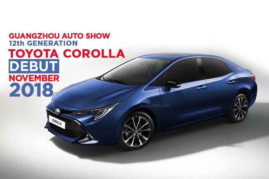 Next Gen Toyota Corolla Sedan to Debut at 2018 Guangzhou Auto Show 24