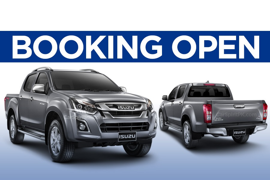 Isuzu D-Max Bookings Open- Prices Revealed 2