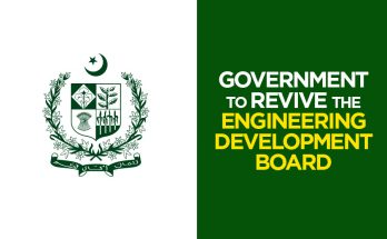 Government to Revive Engineering Development Board 6