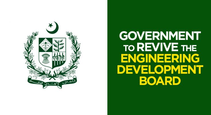 Government to Revive Engineering Development Board 1