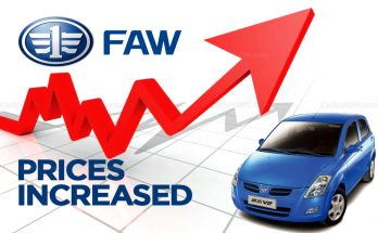 Al-Haj FAW Vehicle Prices Increased 15