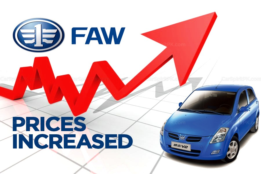 Al-Haj FAW Vehicle Prices Increased 9