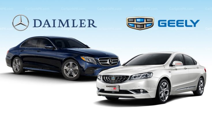 Daimler and Geely to Form Premium Ride-Hailing Joint Venture in China 2
