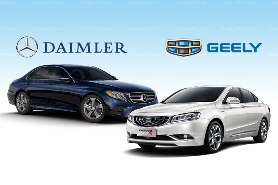 Daimler and Geely to Form Premium Ride-Hailing Joint Venture in China 3