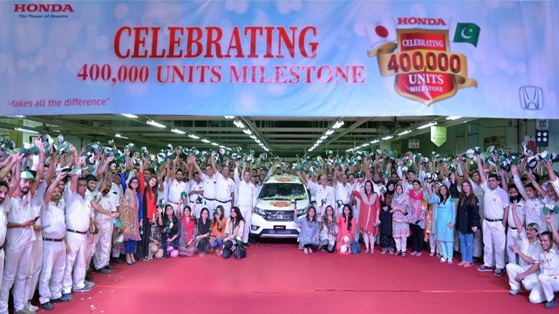 Honda Atlas Cars Celebrates 400,000-unit Production Milestone 8