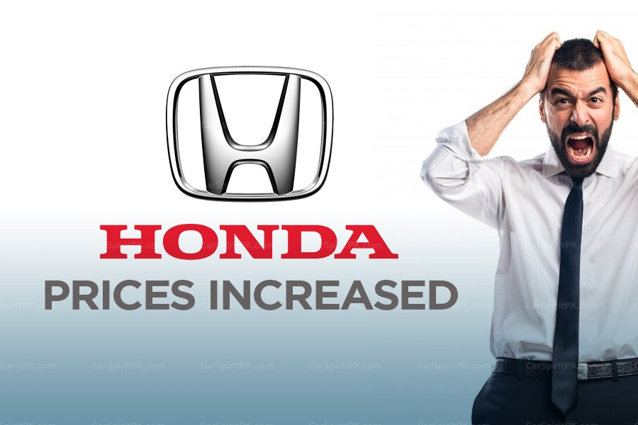 Honda Atlas Increases Car Prices Effective from 22nd October 2018 1
