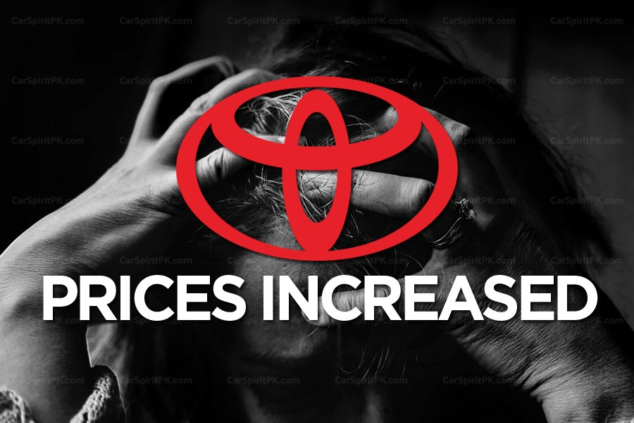 Toyota Cars Prices in Pakistan Revised by up to PKR 830,000 6
