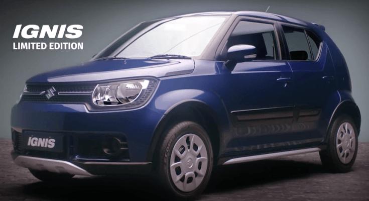 Maruti Suzuki Offering Suzuki Ignis Limited Edition 1