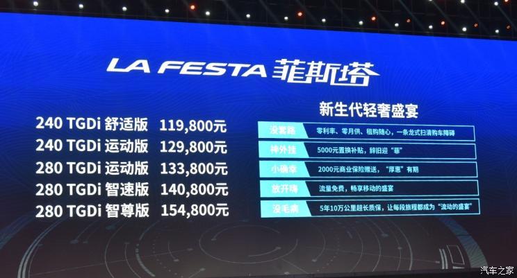 Hyundai LaFesta Sedan Launched in China 2