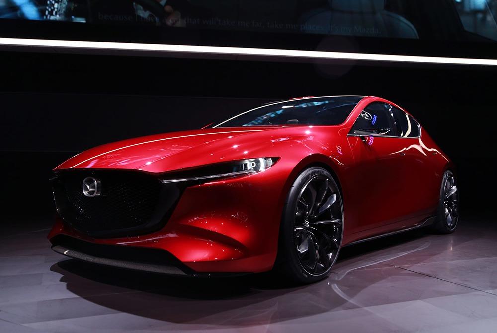 Mazda Teases Next Generation 3 4