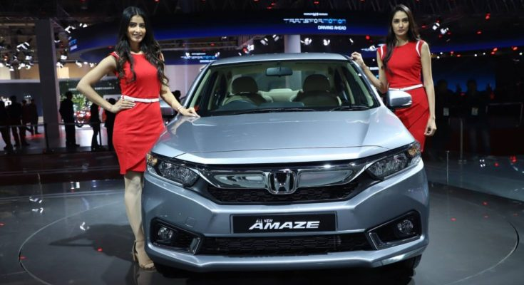 2020 Honda Amaze Launched in India from INR 6.09 Lac 1