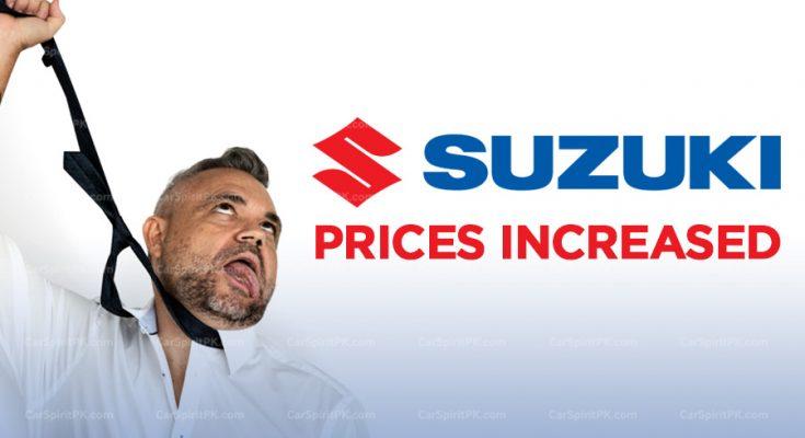 Pak Suzuki Increase Prices on Certain Variants 1