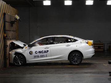 Changan Raeton CC Got 5 Stars from CNCAP Crash Tests 3
