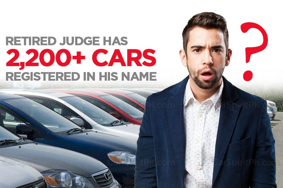 Retired Judge Has Over 2,200 Cars Registered In His Name 1