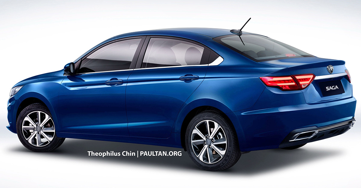 Next Generation Proton Saga Rendered 3