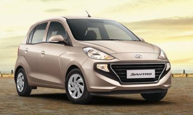 Hyundai Santro Breaches 50,000 Sales Mark in India 2