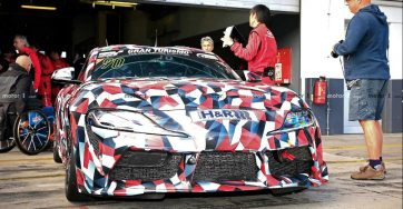 2019 Toyota Supra Spied at Nürburgring 5