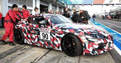 2019 Toyota Supra Spied at Nürburgring 5