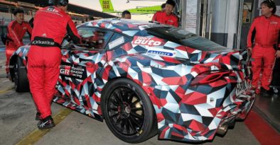 2019 Toyota Supra Spied at Nürburgring 6