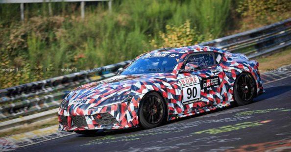 2019 Toyota Supra Spied at Nürburgring 12