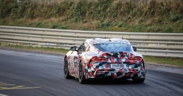 2019 Toyota Supra Spied at Nürburgring 14
