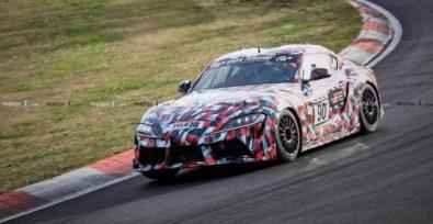2019 Toyota Supra Spied at Nürburgring 15