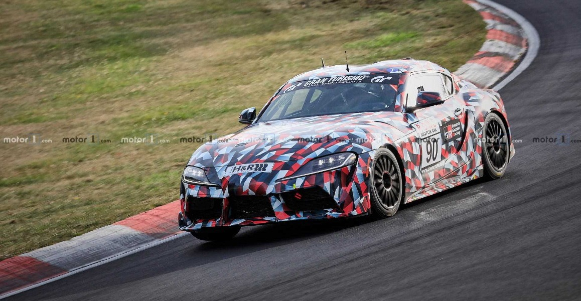 2019 Toyota Supra Spied at Nürburgring 1