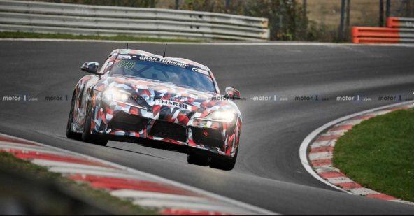 2019 Toyota Supra Spied at Nürburgring 18