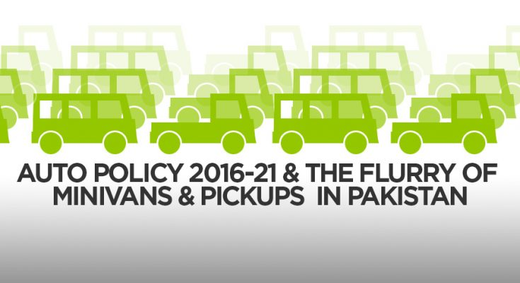 New Auto Policy and the Flurry of Pickups and Minivans 1