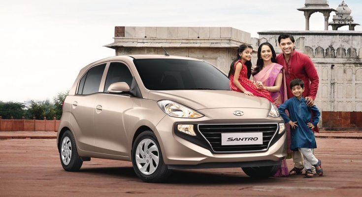 Hyundai Santro Breaches 50,000 Sales Mark in India 1