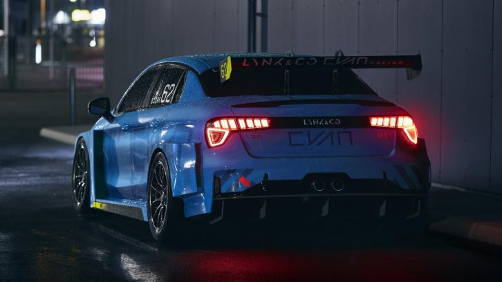 Geely Begins Taking Orders for its First Race Car 5
