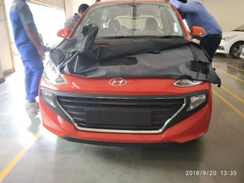 All New Hyundai Santro Spotted Ahead of Official Debut 5