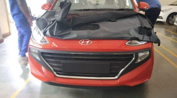 All New Hyundai Santro Spotted Ahead of Official Debut 1